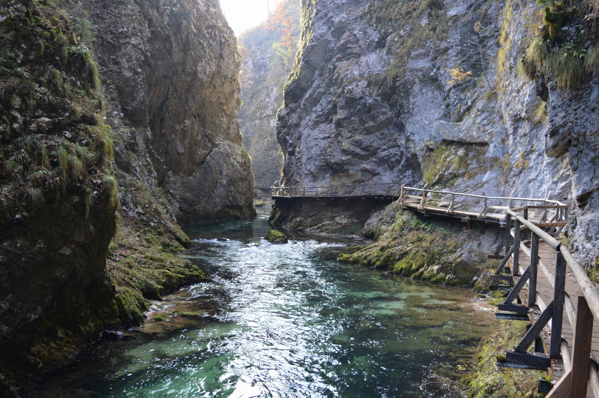 Vintgar Gorge is amazing