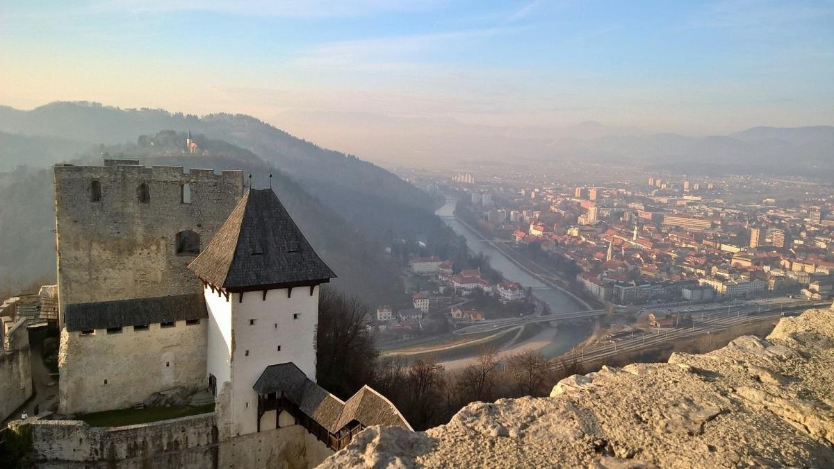Celje Castle panorama